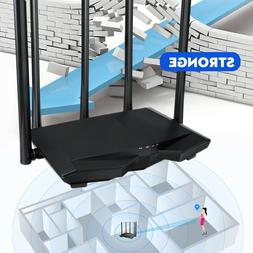MECO 1200Mbps Wireless WiFi Router Smart Dual Band 5 Antenna