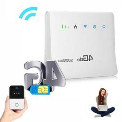 150/300Mbps 4G Wireless Router Mobile Wifi SIM Card Wireless