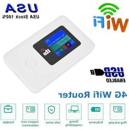 150Mbps Portable 4G LTE Wifi Wireless Router Unlocked Mobile