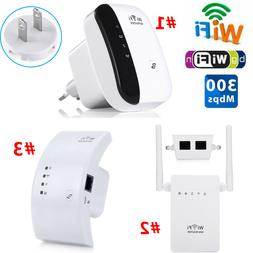 300Mbps WiFi Blast Wireless-N Repeater Booster Router Extend