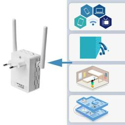 300Mbps WiFi Repeater Signal Booster Wireless-N Range Extend