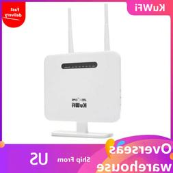 KuWFi 4G LTE CPE Router300Mbps 4G LTE WiFi RouterCAT4 Mobile