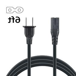 6ft 2-Pin AC Power Cable Cord for Arris Model TG1682G Router