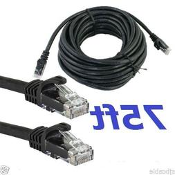 75 FT RJ45 Cat5 Ethernet LAN Network Cable for PC PS Xbox In