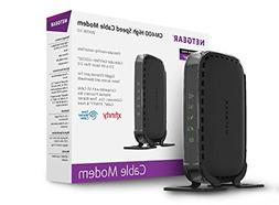 NETGEAR Cable Modem 8x4 DOCSIS 3.0  Works Xfinity from Comca