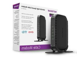 NETGEAR Cable Modem 8x4 DOCSIS 3.0   Works for Xfinity from