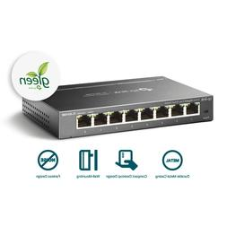 TP-Link 8-Port Gigabit Ethernet Easy Smart Switch | Unmanage