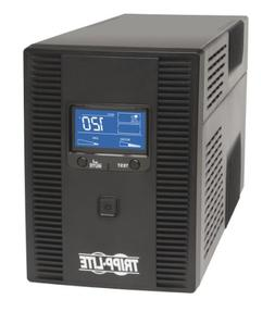 Tripp Lite 1500VA UPS Battery Back Up AVR LCD Display 10 Out