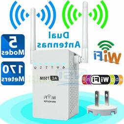 AC 750Mbps Wireless Router Dual band 802.11 WiFi Repeater Si