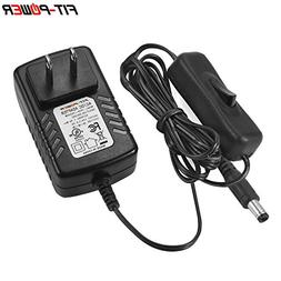 FIT-POWER 12 Volt 2A Power Supply Adapter AC to DC 2.1mm X 5