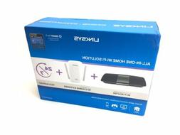 Linksys AC1750 Wireless Router and AC1200 Extender Wi-Fi Hom