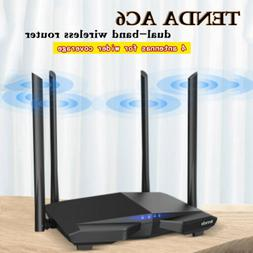 Tenda AC6 Wireless Router 1200M Dual Wi-fi Repeater 2.4G/5G