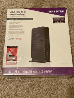 BRAND NEW NETGEAR N600  WiFi Cable Modem Router C3700 - FREE