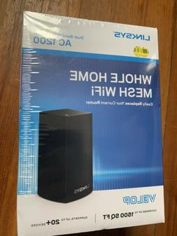 Brand new Linksys Velop Whole Home Mesh Dual-Band WiFi 5 Rou