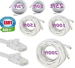 CAT6 CAT6 RJ45 Ethernet LAN Network Patch Cable For PS XBox