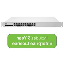 Cisco Meraki Cloud Managed MS225 Series 24 Port Gigabit Swit