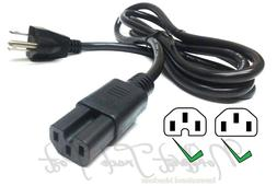 Cisco Router Power Cord 6ft 18AWG IEC C15 Notched 3 Prong Su