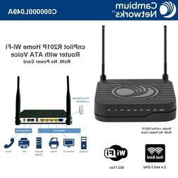 cnPilot Home & Business R201P WLAN Router w/ Analog Telephon