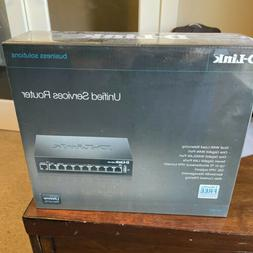 D-Link DSR-250 8-Port Gigabit VPN Router with Dynamic Web Co