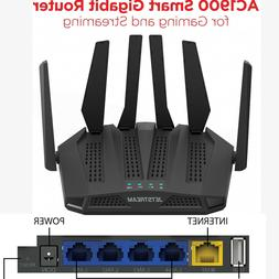 Dual Band Gaming Router 3000 sq ft. Coverage Network Office