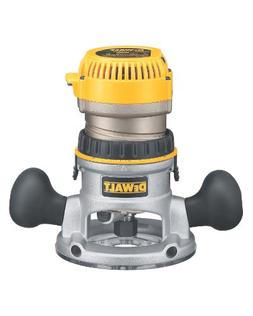 DEWALT DW618 2-1/4 HP Electronic Variable-Speed Fixed-Base R