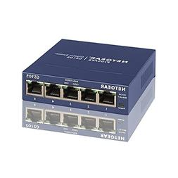 Ethernet Unmanaged Switch, 5-port Fast Home Ethernet Switch