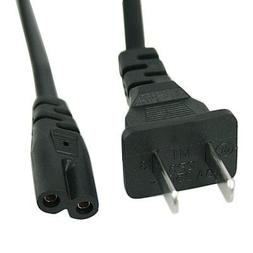 EpicDealz Extra Long 15Ft 2 Prong Polarized Power Cord for A