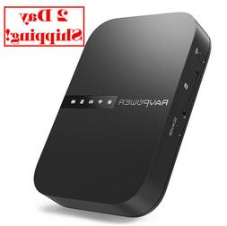 RAVPower FileHub Wireless Travel Router AC750 Portable SD Ca