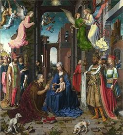 'Jan Gossaert-The Adoration Of The Kings,1500' Oil Painting,