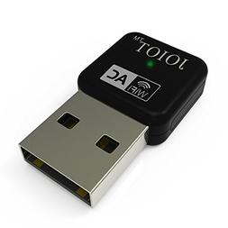 Joiot 11AC 600M Dual Band Nano USB WiFi Adapter for Laptop a