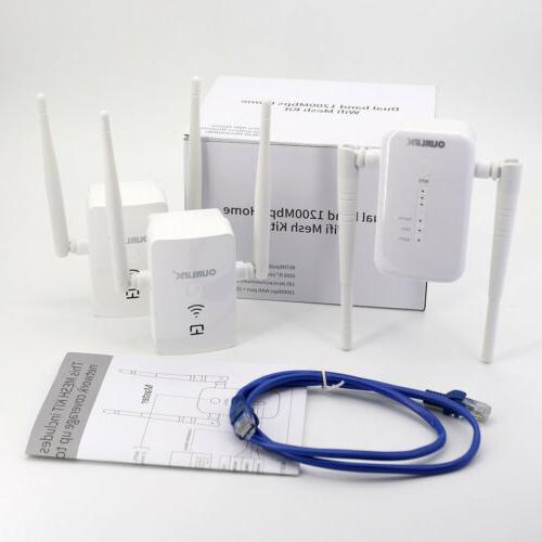 OURLINK 1200mbps Dual Home System Replaces Extenders