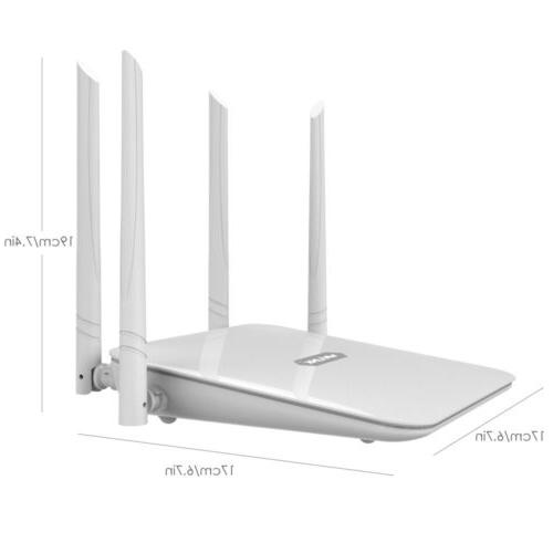 1200Mbps Gigabit Router Band 4xLAN Access
