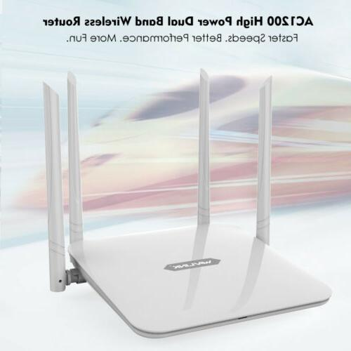 1200Mbps Router Band 4xLAN Access Point