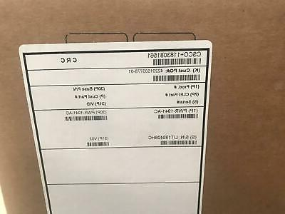 CISCO1941/K9 1000 Mbps Gigabit Wired Integrated Services Router