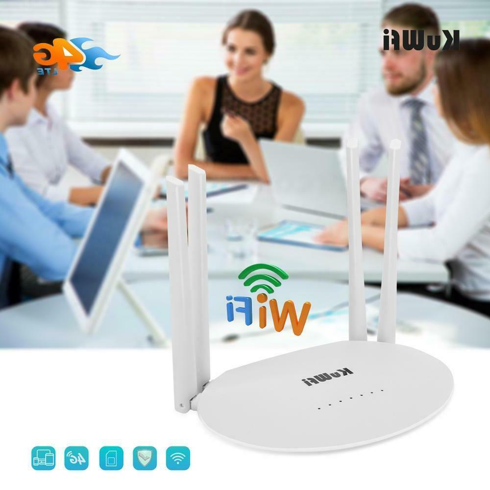 KuWfi 4G Router 300Mbps CPE Wifi Router