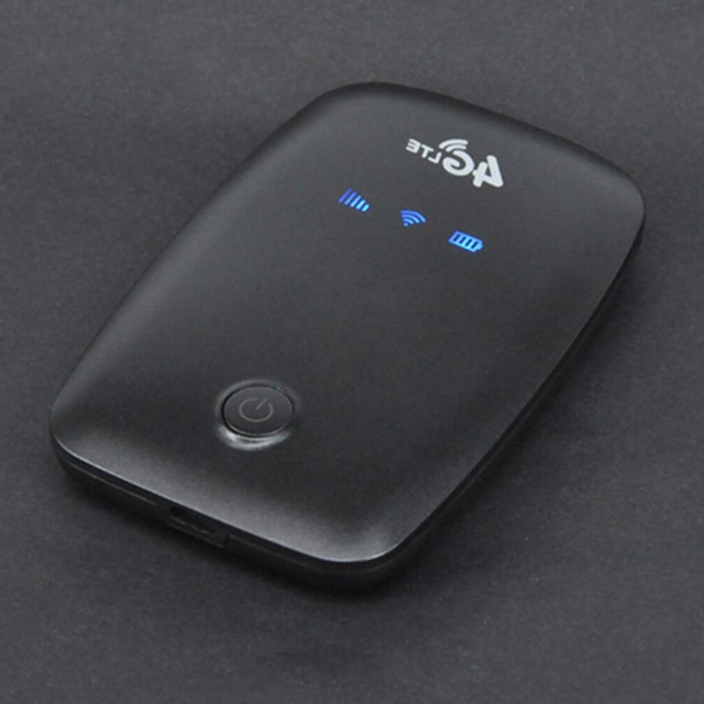 4G Wireless Dongle <font><b>Battery</b></font> Rechargeable Portable Wifi Sim Outdoor Car Mobile High Hotspot