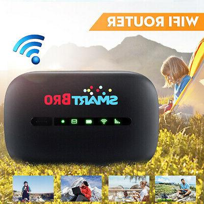 600Mbps Portable Wifi 3G Router LTE Mobile Broadband Hotspot
