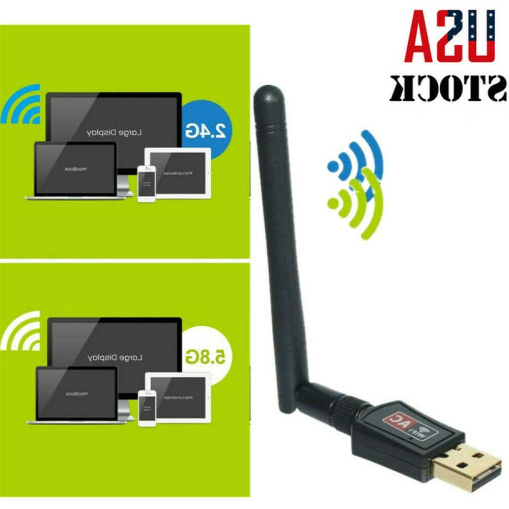 600 Mbps USB WiFi Router Wireless Adapter PC Network LAN Car
