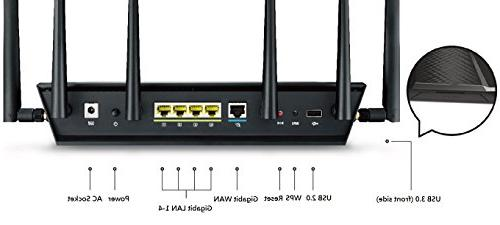 ASUS Router with to ensure Lag-Free Gaming, and Control