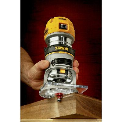 DEWALT DWP611 Variable Speed Premium Compact Router with New