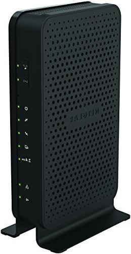 NETGEAR C3000-100NAS N300 WiFi DOCSIS 3.0 Router Xfinity from Cablevision &