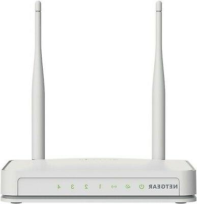 NETGEAR N300 Wi-Fi Router with High Power 5dBi External Ante