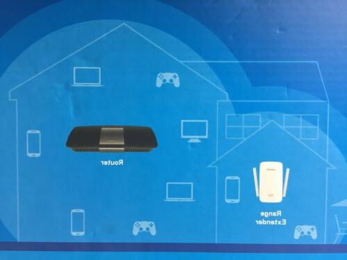 Linksys Router and AC1200 Home Solution