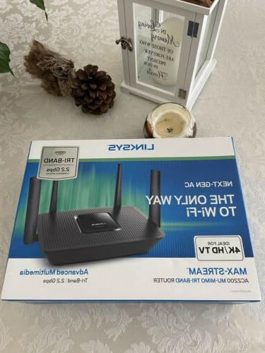 ac2200 max stream dual band wireless router