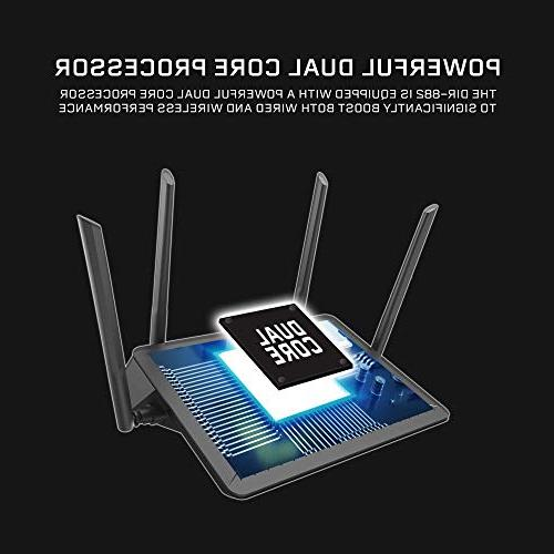 D-Link EXO Wi-Fi Router – Streaming and Gaming USB Band Router