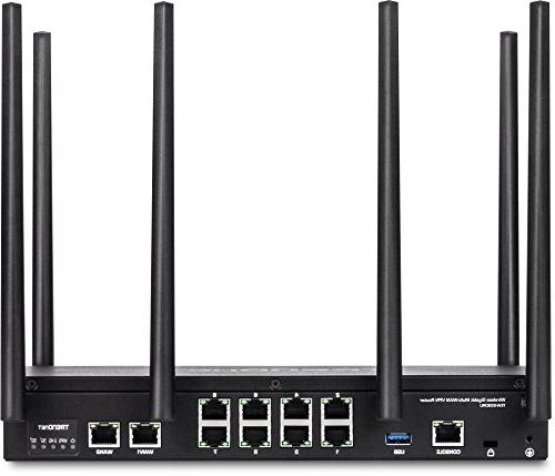 TRENDnet AC3000 Wireless Gigabit Dual-WAN Router routing,