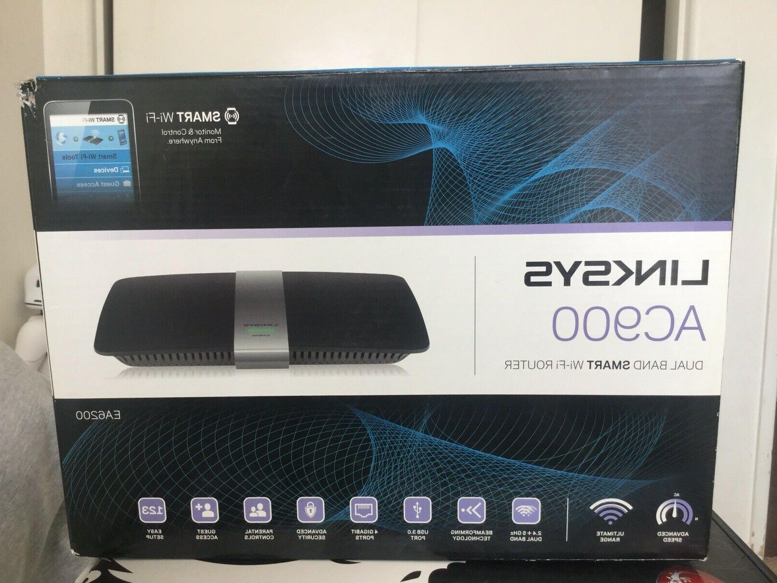 Linksys AC900 EA6200 Wi-Fi Wireless Dual-Band + Router