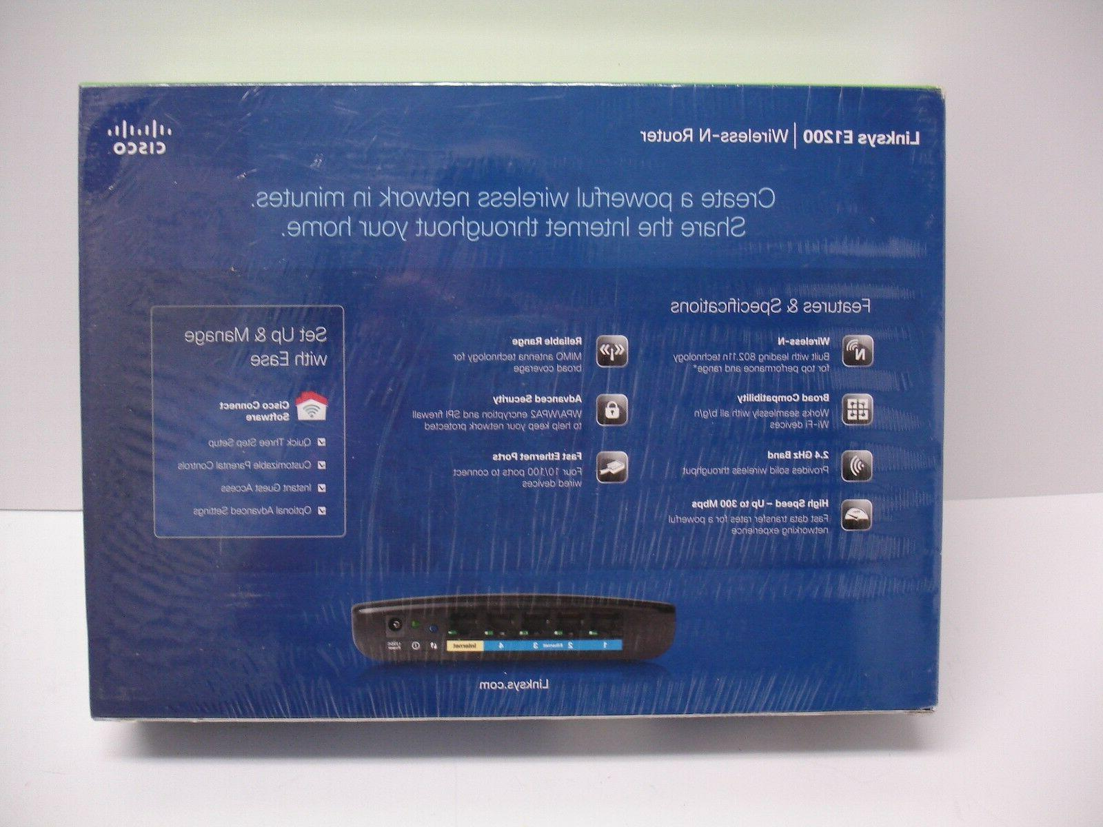 Cisco Linksys Mbps Wireless Router New
