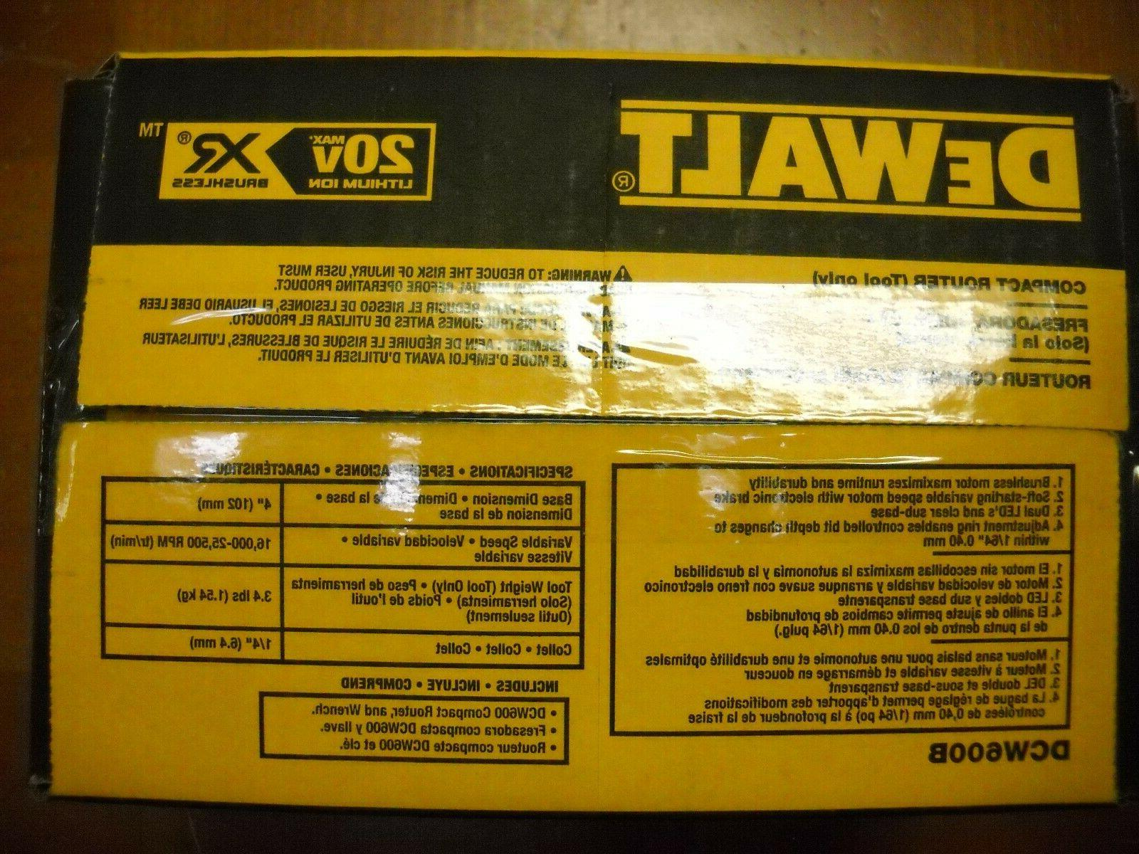 Dewalt XR Router NEW