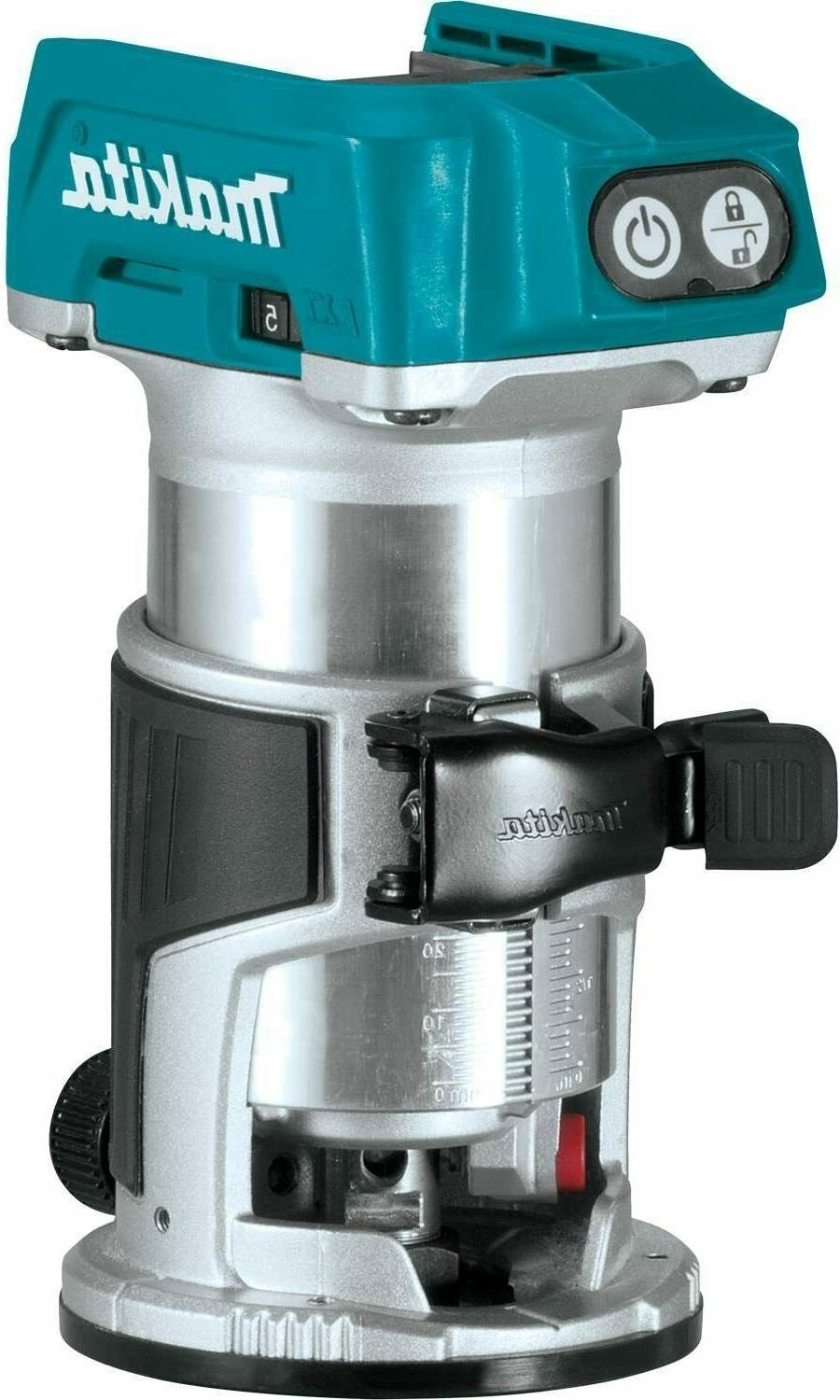 dcw600b 20v xr cordless compact router bare